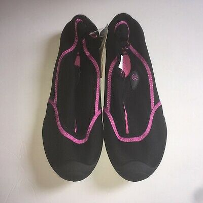 61c4d3a4054 C9 Champion Women s Size XL 11-12 Black And Pink Geo Flow Mesh Water Shoes