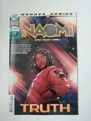 Naomi #2  - First Print - Dc Comics - Cover A - Bendis - Sold Out
