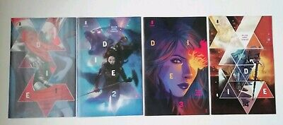Die #1 2 3 4 - First Print Cover B Set - Image Comics - Sold Out - Gillen/hans