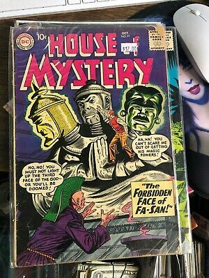 DC COMICS HOUSE OF MYSTERY,HOUSE OF SECRETS, UNEXPECTED 5 COMICS see pics