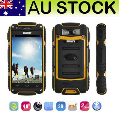 3G Android Discovery V8 Rugged Smartphone Outdoor Dual Core Unlocked Cell Phone