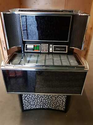 Vintage Seeburg Matador Jukebox SPS2 Full of Records & key, Lights up Untested,