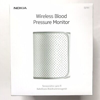 New Nokia Wireless Blood Pressure Monitor for Android iOS Bluetooth Sync BP-801