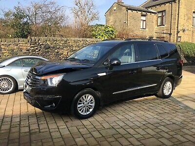 Ssangyong Turismo Ex 2.2 Diesel Auto/trip 2016,damage Repairable Starts & Drives