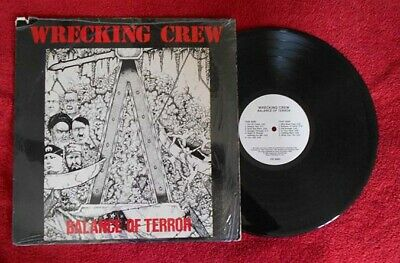 Wrecking Crew  Balance Of Terror  Lp With Shrink
