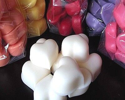 Candle Wax Tarts Melts Soy Paraffin 8 oz 1/2 LB Heart Home Fragrances Scents