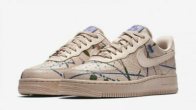 NIKE WOMEN'S AIR Force 1 AF1 '07 LX SZ 10 PARTICLE BEIGE 898889 202