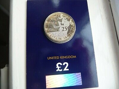 NEW Two Pound Coin 2018 CAPTAIN JAMES COOK Brilliant Uncirculated BU £2 Coin.
