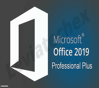 Office Professional Plus 2019 Flash Drive 32 & 64 Bit / FREE LICENSE KEY