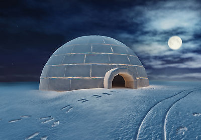 Guided Meditation Cd, See Your Own Igloo On An Arctic Plain, See Northern Lights