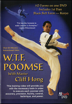 TAEKWONDO WTF POOMSE Forms, TKD on DVD, See Video