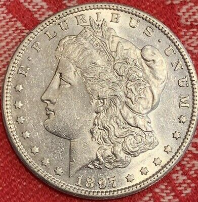 1897 S Morgan Silver Dollar | Choice BU | Gorgeous Coin | High Grade
