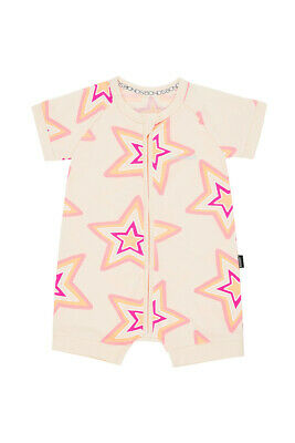 Bonds Baby Short Sleeve Zip Wondersuit Romper sizes 0000 000 00 0 1 2 Star Base