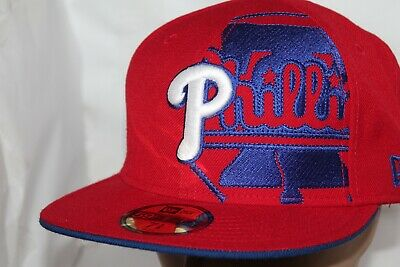 big sale 3ca46 7d583 Philadelphia Phillies New Era MLB Philly Bell Solid 59Fifty,Cap,Hat   40 NEW