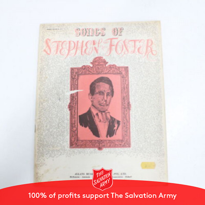 STEPHEN FOSTER SONG Book of 40 Songs - $6 65 | PicClick