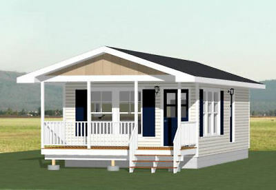 16X32 TINY HOUSE -- 511 sq ft -- PDF Floor Plan -- Model 2I
