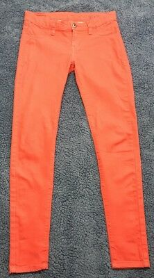 Blank NYC Womens Jeans Coral Red Skinny Slim Size 24 Anthropologie