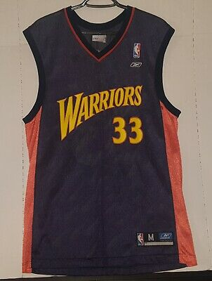 check out 16afc a259b REEBOK VINTAGE ANTAWN Jamison Golden State Warriors Jersey Mens Medium GUC