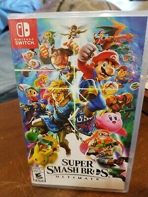 Super Smash Bros. Ultimate Switch. New/Sealed