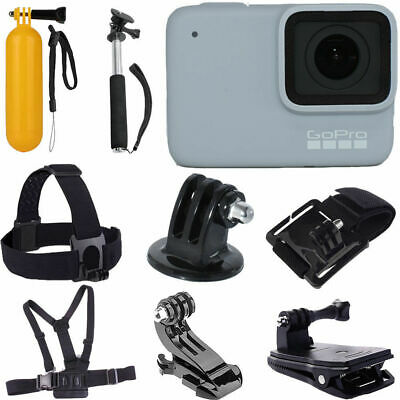 GoPro HERO7 (White) Waterproof Action Camera CHDHB-601 Gopro Sports Accessories