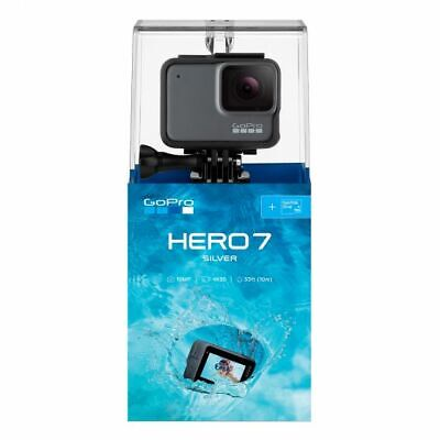 New GoPro HERO7 White Waterproof Action Camera, Touch Screen, 1440p HD Video