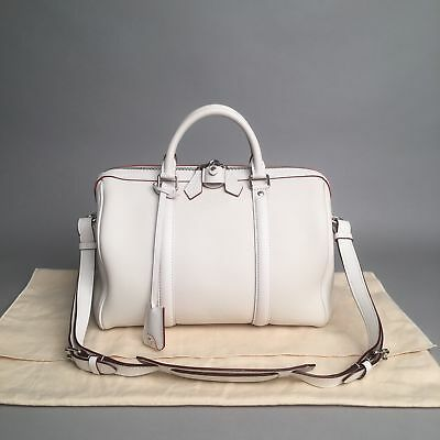 8b9f1a749cd8 NEW Louis Vuitton Parnassea Collection  Sofia Coppola PM  bag in White calf  leat