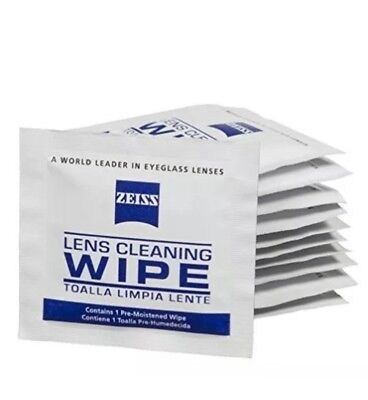 Zeiss Pre-Moistened Lens Cleaning Wipes, 6 x 5-Inches, 100 count Lense Cleaner