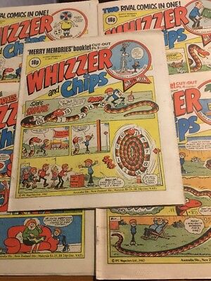 24 Whizzer and Chips Comics From 1982 *Great Condition *