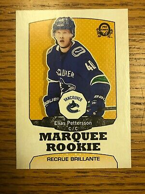 2018-19 OPC O Pee Chee Marquee Rookie Retro Elias Pettersson  Vancouver Canucks