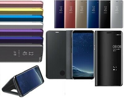 Smart Mirror View Wallet Flip Stand Case Cover For Samsung Galaxy S9 / S9 Plus