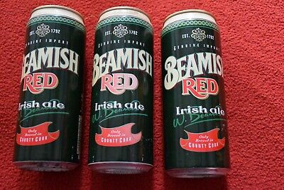 Beamish Red Irish Ale Beer Can Brewed in County Cork, Ireland