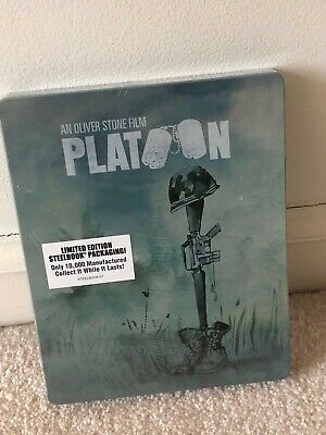 Platoon Steelbook Blu-ray Limited Edition Steelbook Factory Sealed