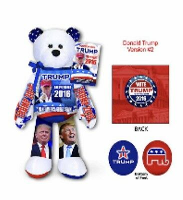 TRUMP President Donald Trump Collectible BEAR Limited Edition NEW