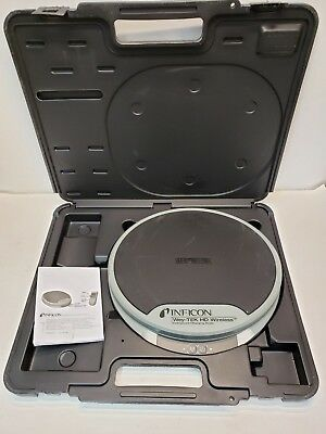 Wey-TEK Inficon HD Wireless Refrigerant Charging Scale 220 lb W/ Storage Case