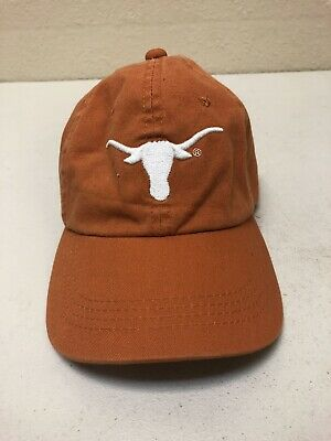 detailed look 09afe e9c0c Longhorns Texas Hat Cap Adjustable College Football Hat Cap c25
