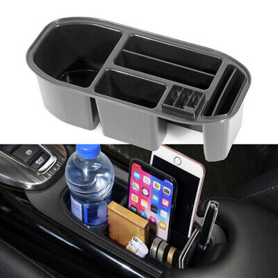 Car Water Cup Holder Storage Box Container Tray For Honda HR-V ABS Plastic
