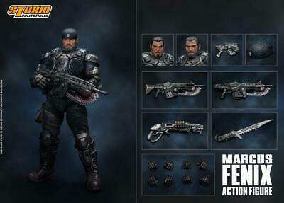 Storm Collectibles Gears of War Marcus Fenix 1/12 Scale Figure PRE-ORDER