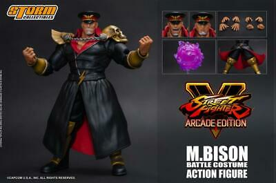 Storm Collectibles Street Fighter V M. Bison Arcade Edition 1/12 Scale Figure