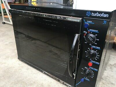 Oven Moffat Turbo restaurant fan forced oven takes wide trays 15 amp plug
