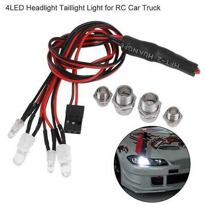 4 LED 3-7V Super bright LED Flashing Light System for Rc Car RC Accessories sp