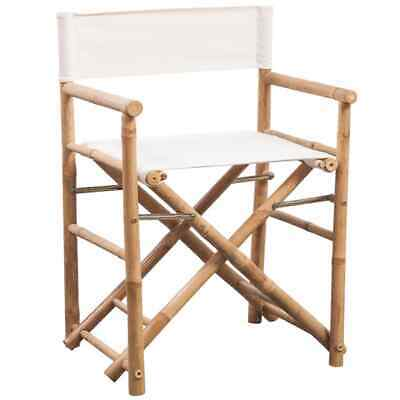 Terrific Folding Directors Chair 2 Pcs Bamboo And Canvas 89 95 Squirreltailoven Fun Painted Chair Ideas Images Squirreltailovenorg