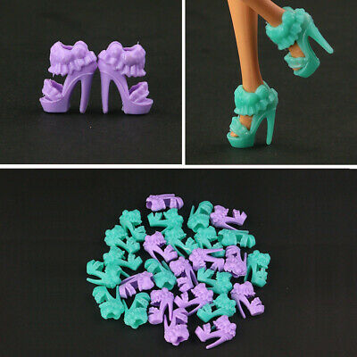 Barbie Shoes//Boots LightGray high-heeled NEW #0272