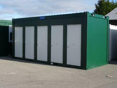 5 Bay Toilet Block - New Portable Building Unisex w.c.