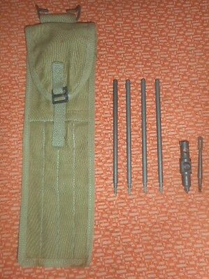 U.s.army :  Original Case,cleaning Rod, M1 & Steel Cleaning Tool & Gas Port Tool