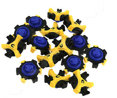 15 Pcs Golf Shoe Spikes Cleats Pins Tri-Lok Fast Twist Replacement For Footjoy