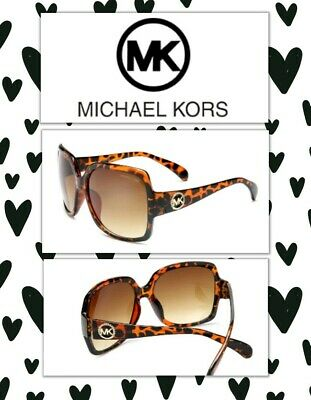 ad9592f1f2 Michael Kors Womens Cheetah Designer Sunglasses With Case ~ New! Free  Shipping!