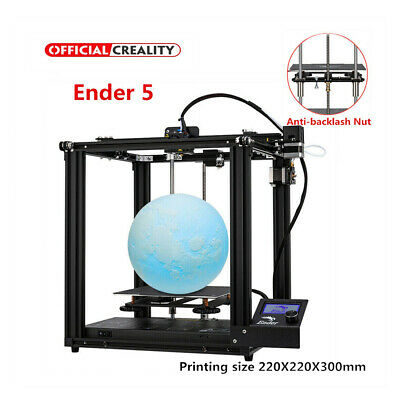 Creality Ender 5 3D Printer Dual Y-axis 220X220X300mm +V1.1.5 Silent Motherboard