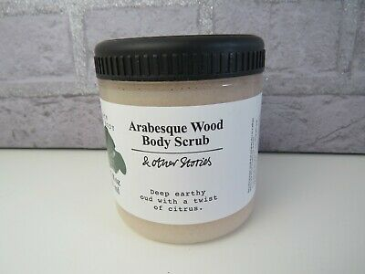 And Other Stories Arabesque Wood body scrub, 250ml