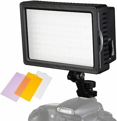 Portable LED Light Panel | 160 Dimmable LED's Power Output Continuous
