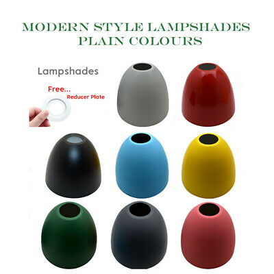 Modern Lampshade Ceiling Pendant Light Chandelier Shade Vintage Colour Shade Uk